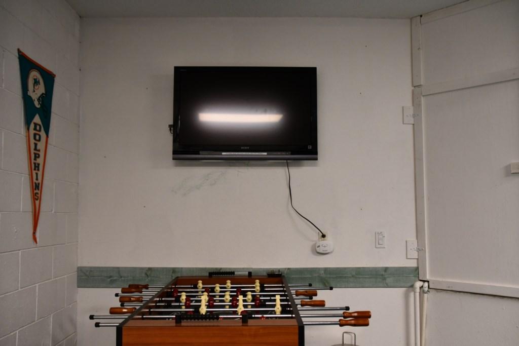 Football Table & TV