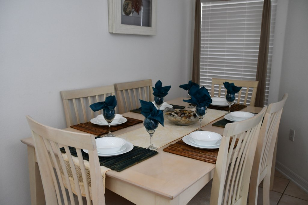 Formal Dining space to host family gatherings