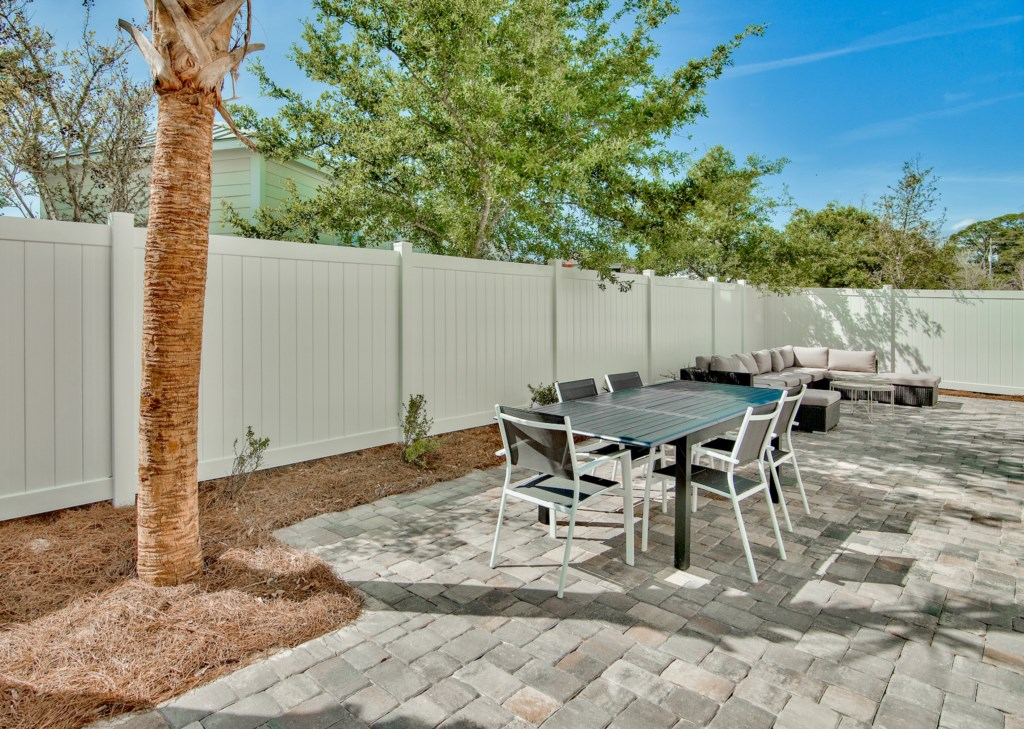 You will have plenty of seating for large gatherings as well as dining area