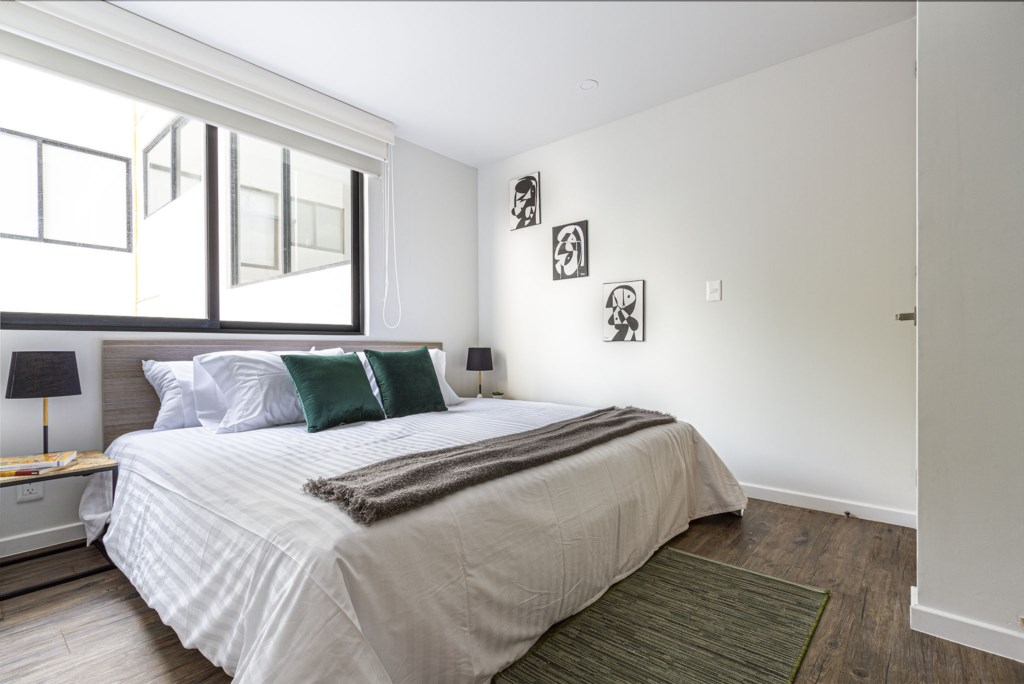 Private and spacious bedroom with very comfortable bed
