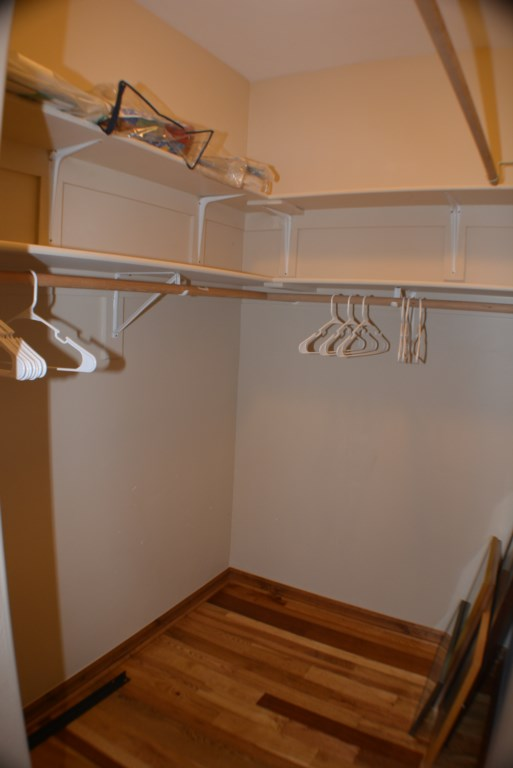 Walk-In Closet with Storage so you can Stay A While!