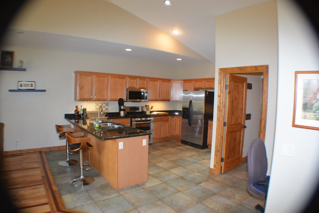 Large Kitchen with Double Oven and Open Floor Plan