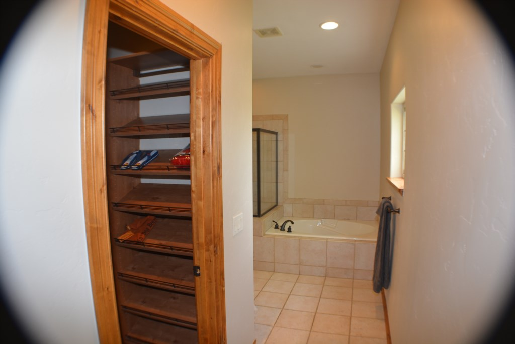 Master Suite Bathroom and Closet