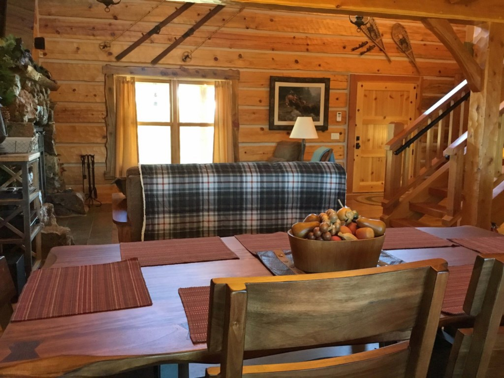 Classic Cabin Charms and Wood Furnishings