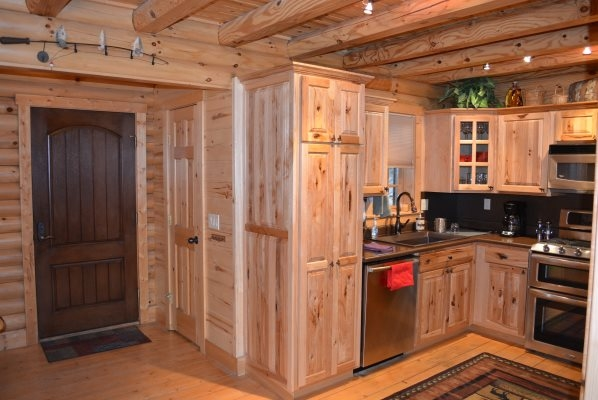 Spacious Wooden Kitchen Great for Entertaining