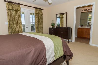 Upstairs queen ensuite bedroom