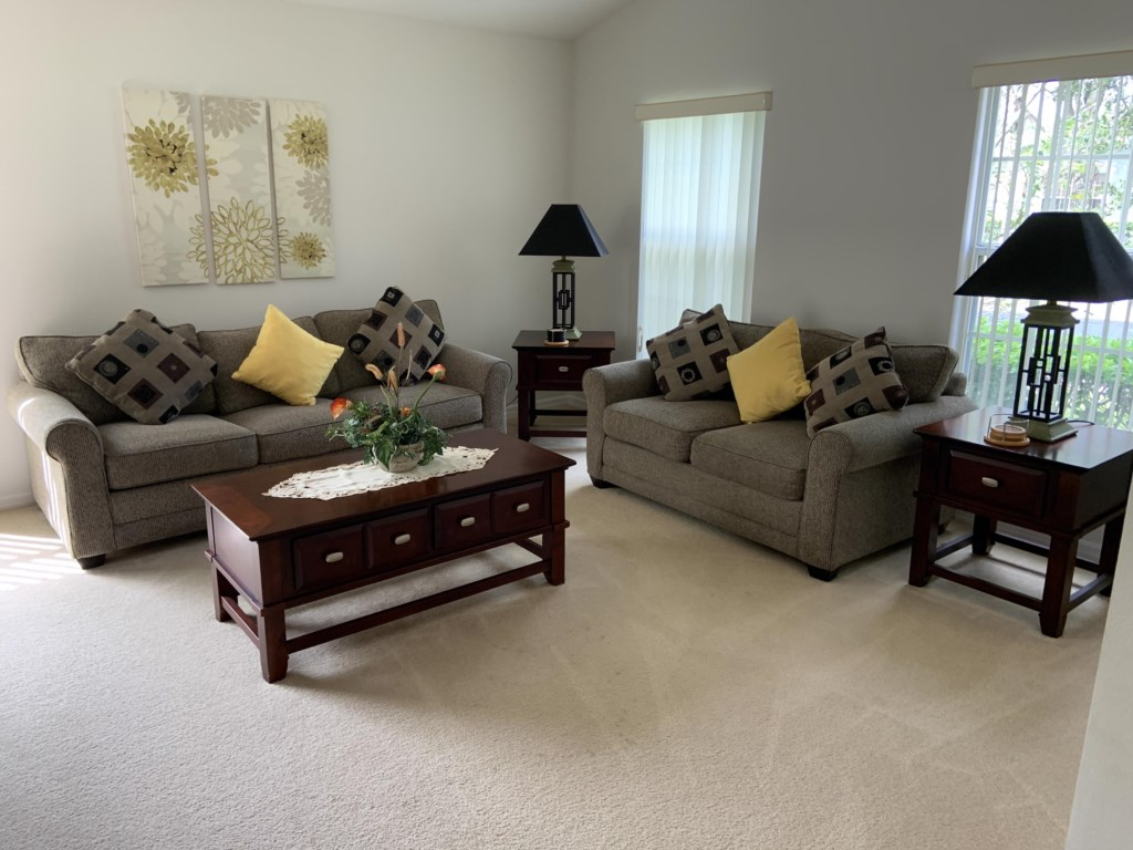 Front lounge area