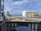 Balcony view of the Baywatch complex and Pensacola Bay