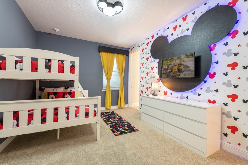 MickeyThemedBedroom