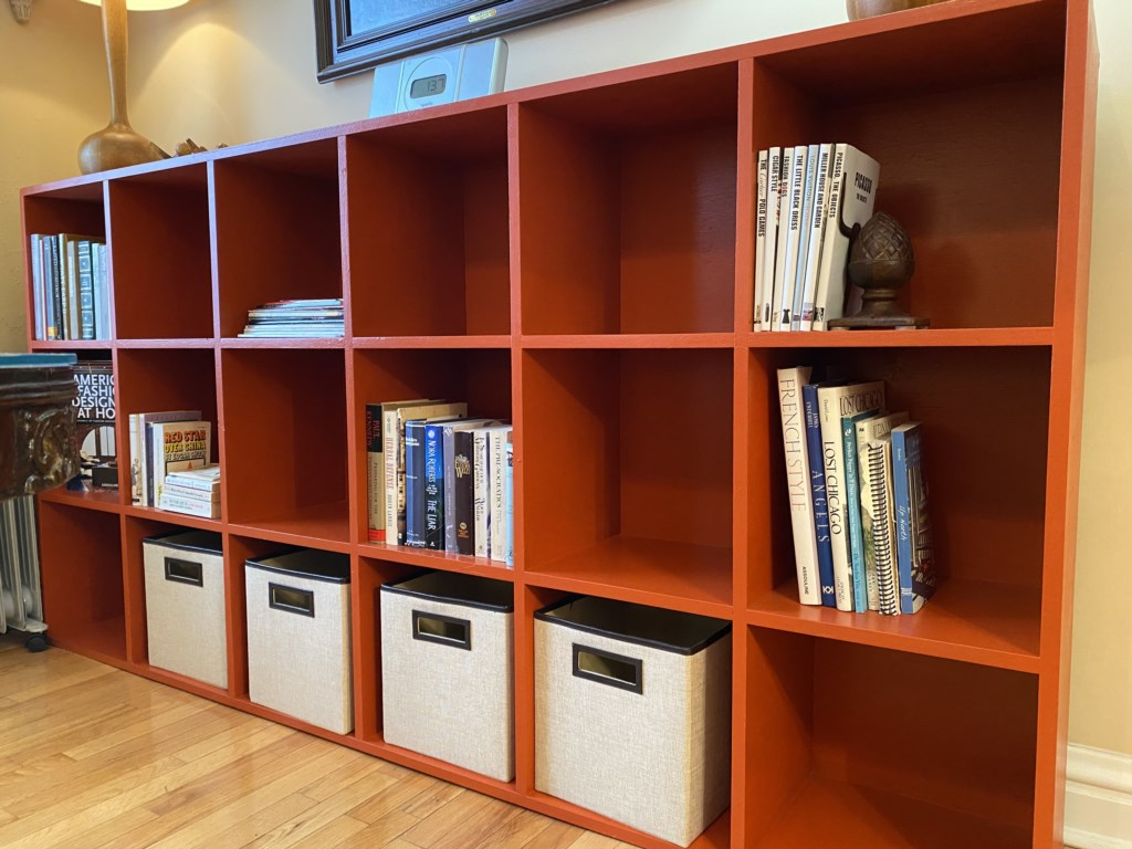 The Adler Suite offers reading material and tourist information, as well as abundant storage for your things.