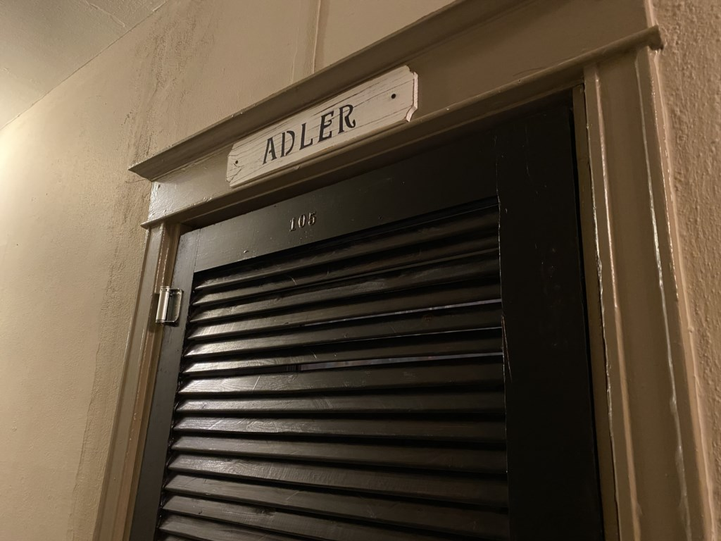 Adler Suite is on the first floor of the Cambridge Apartments.