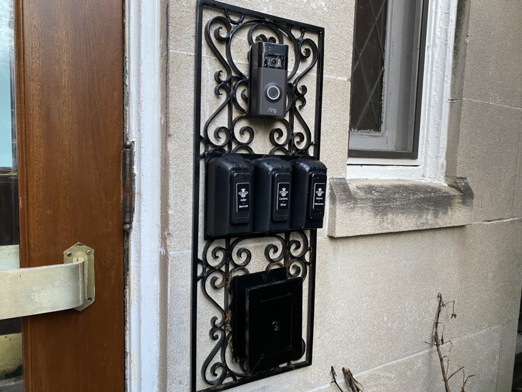 When you arrive, you'll retrieve your front door key from the Bennett's lock box.