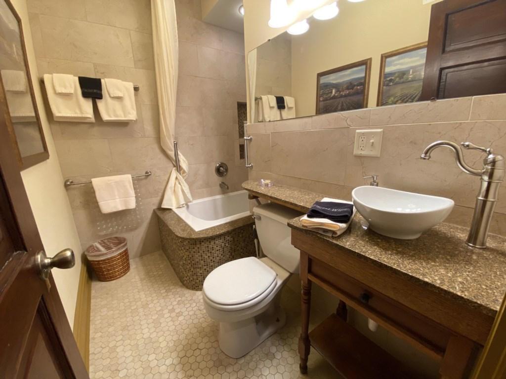 The Cambria's bathroom.