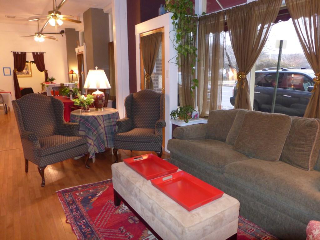 Cozy seating setups