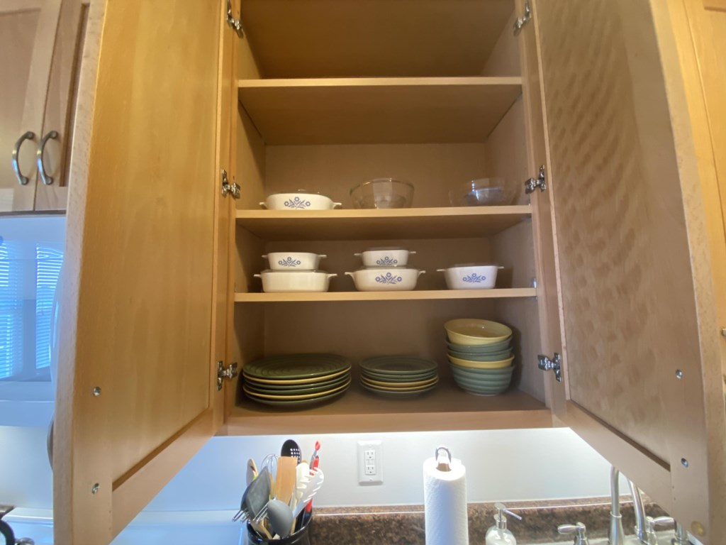 Check all the cabinets of the Emma Sale Suite to find what you need.