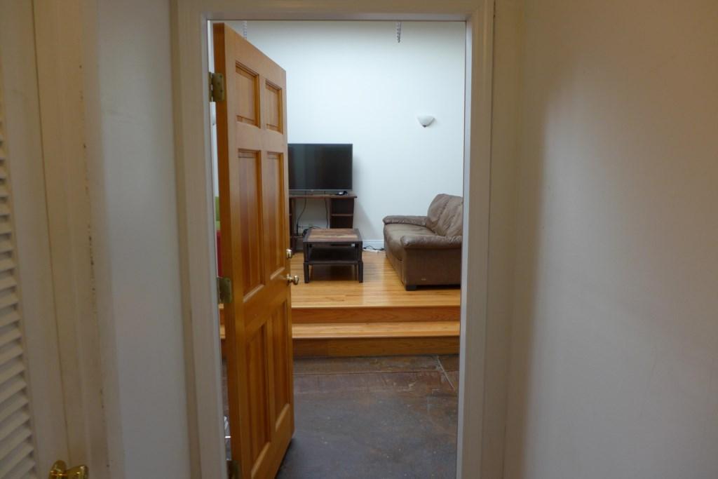 Interior entrance door to Loft