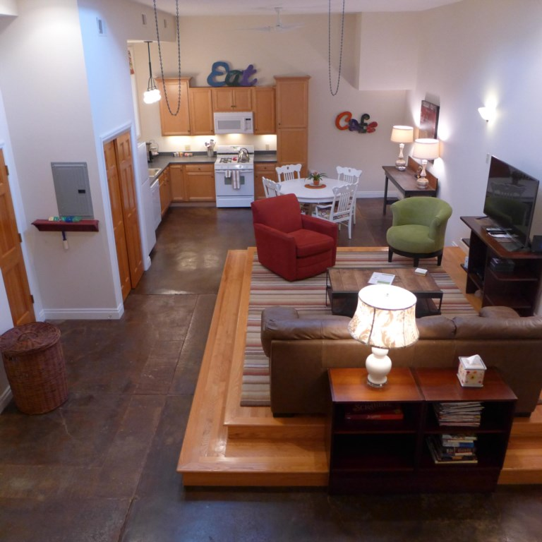 Loft at Shenandoah, across the street from magnificent Compton Heights