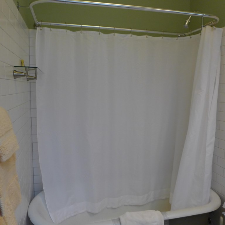 Shower available