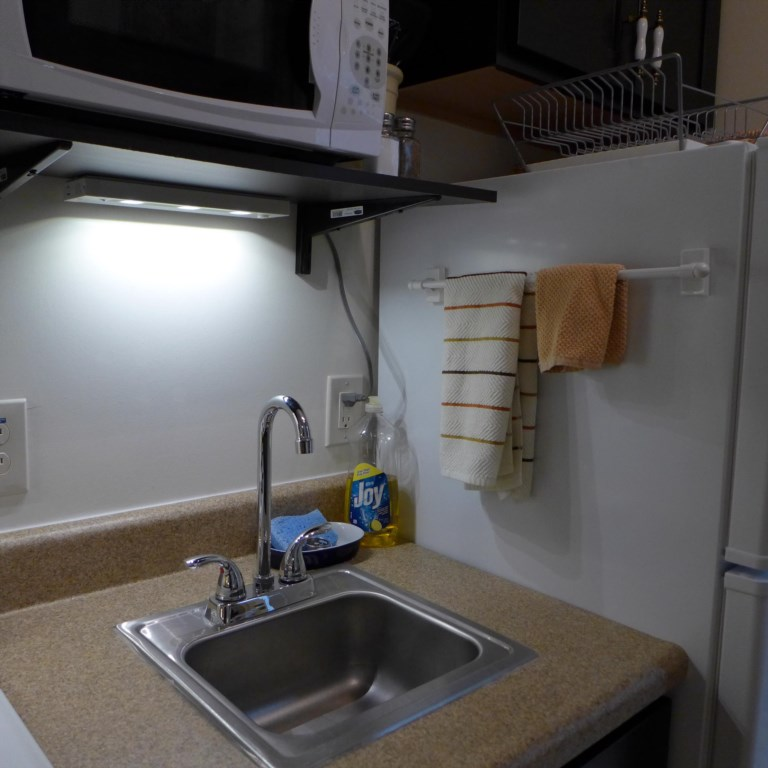 Lighting under cabinets