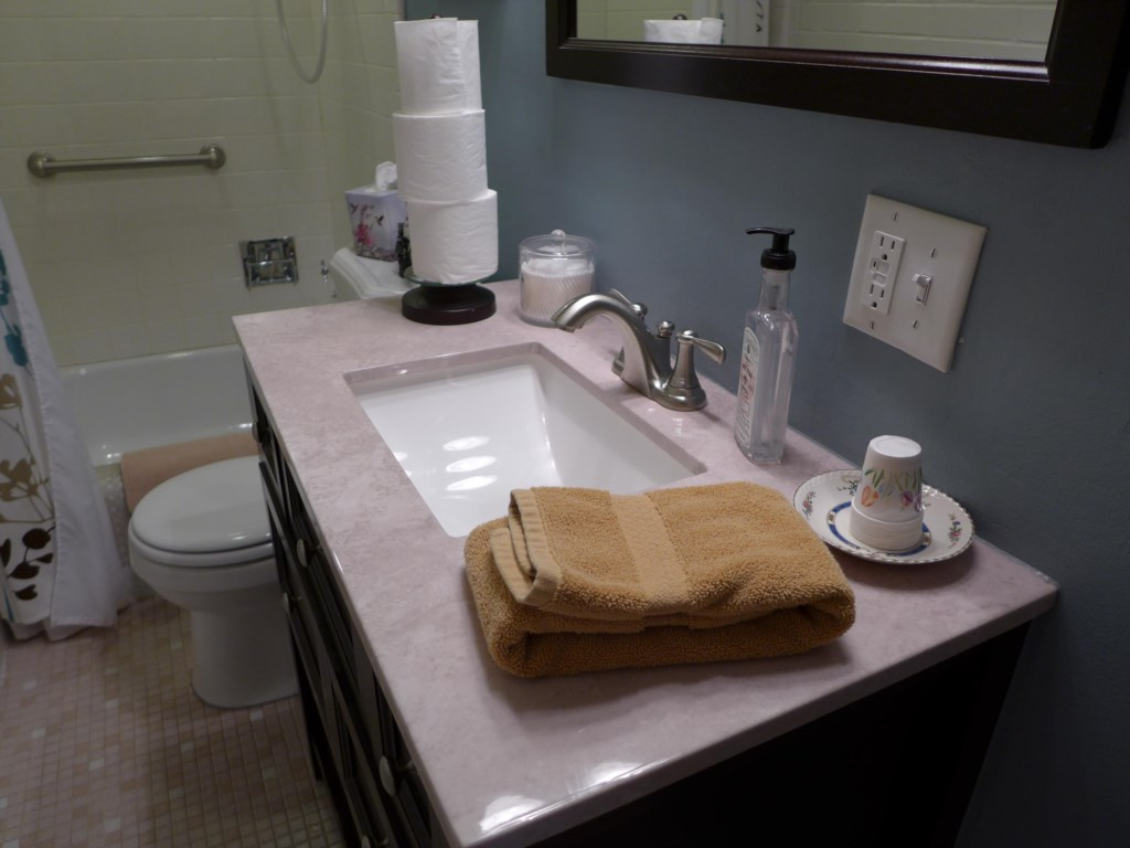 Your stay at the Ullrich Suite includes towels, soap, shampoo, conditioner and hair dryer.