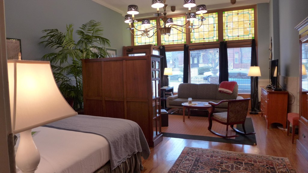 Welcome to the Ullrich Suite, in St. Louis' Tower Grove East neighborhood across the street from Compton Heights.