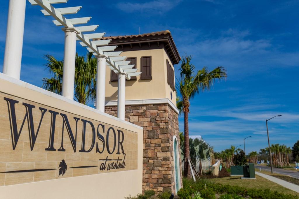 Windsor at Westside entrance
