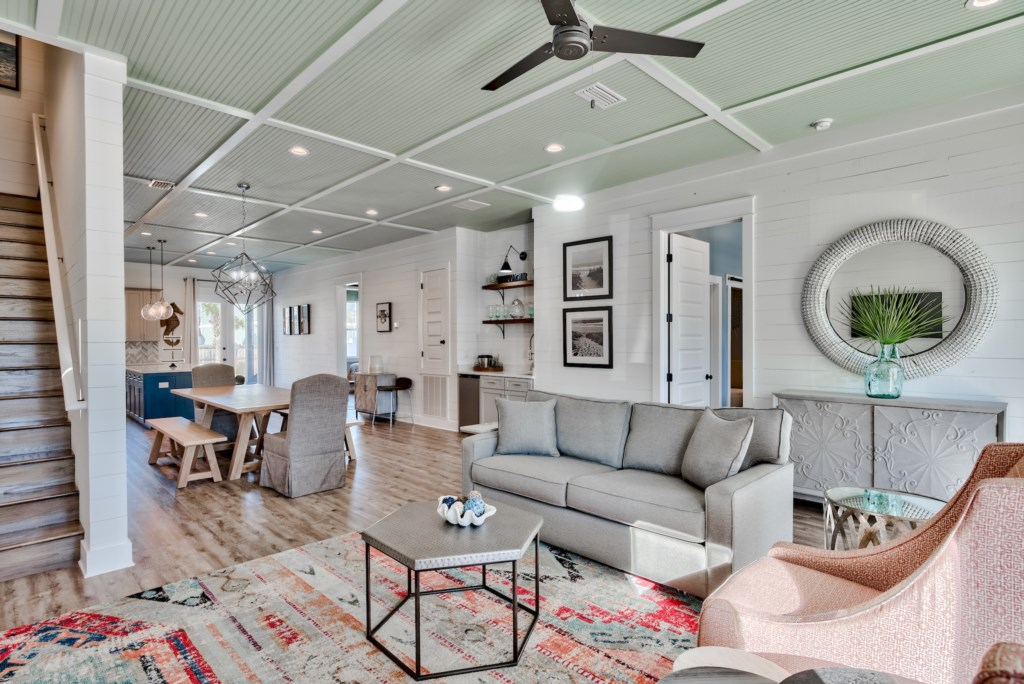 Finely appointed interiors define this beautiful Coastal retreat