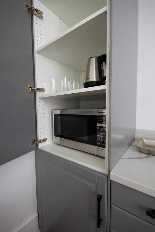 Kitchenette allows you to use this space as mother-in-law suite.