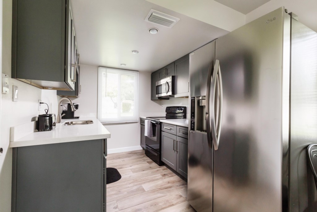 Full remodeled kitchen