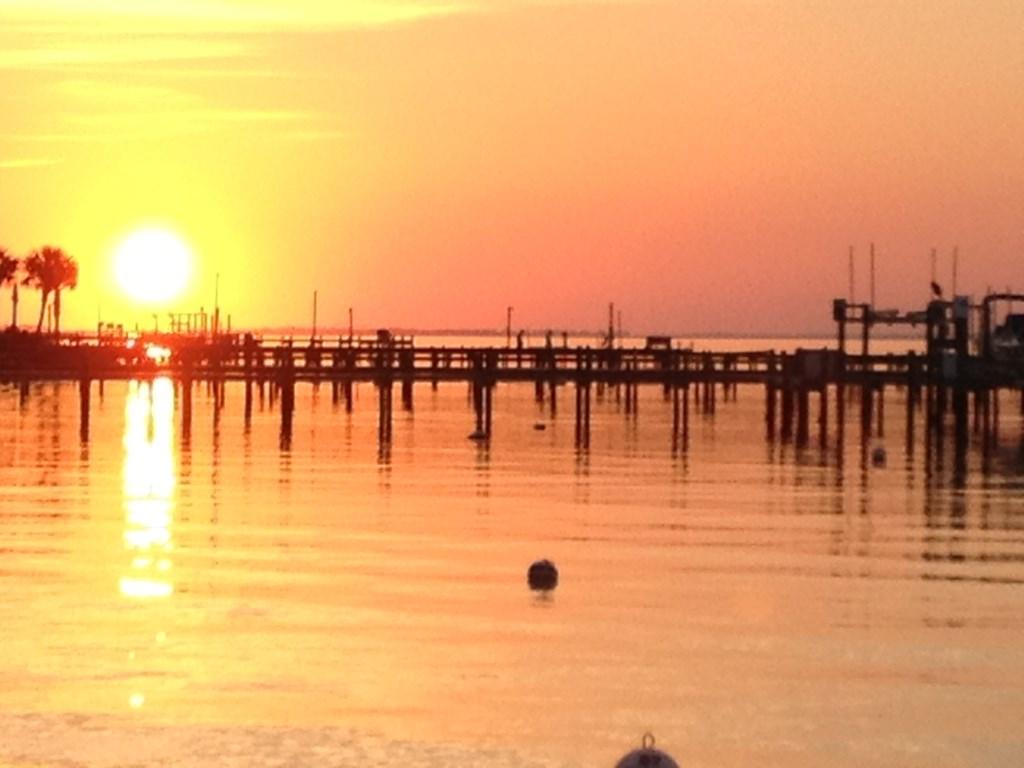 Take in a beautiful sunset