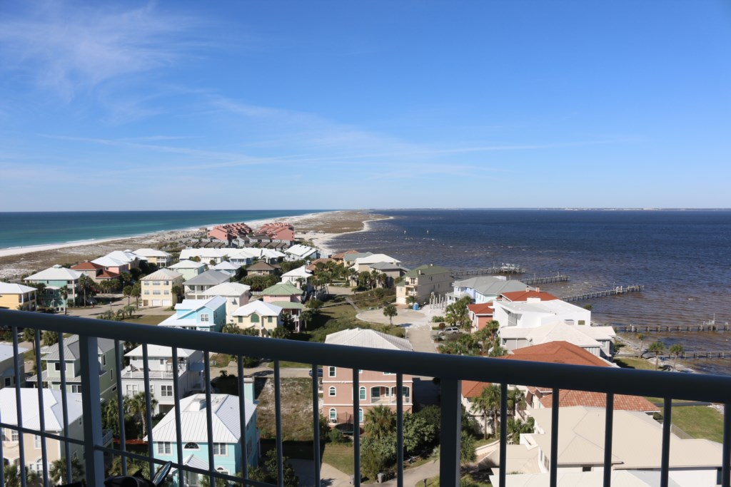View from second bedroom balcony