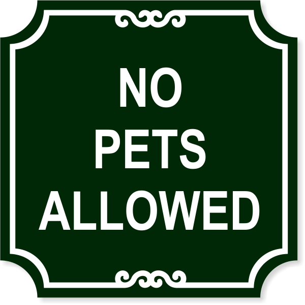 12142-no-pets-engraved-plastic-sign-12-x-12