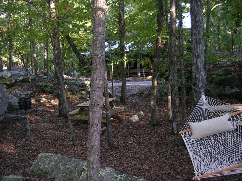 Outside picnic area