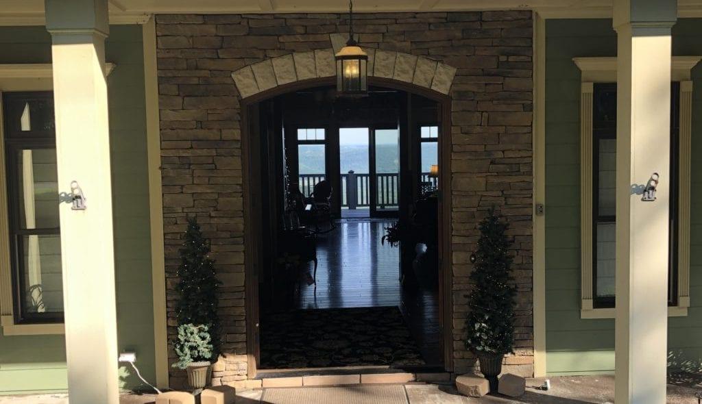 Inn front door