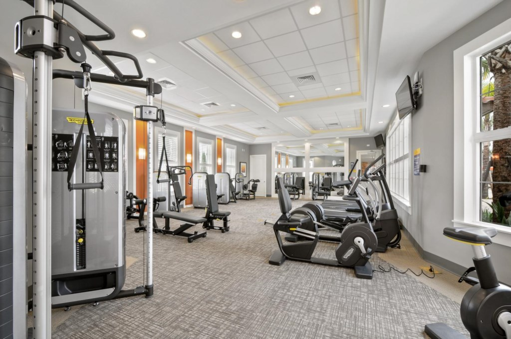 Clubhouse Gym / Fitness Center