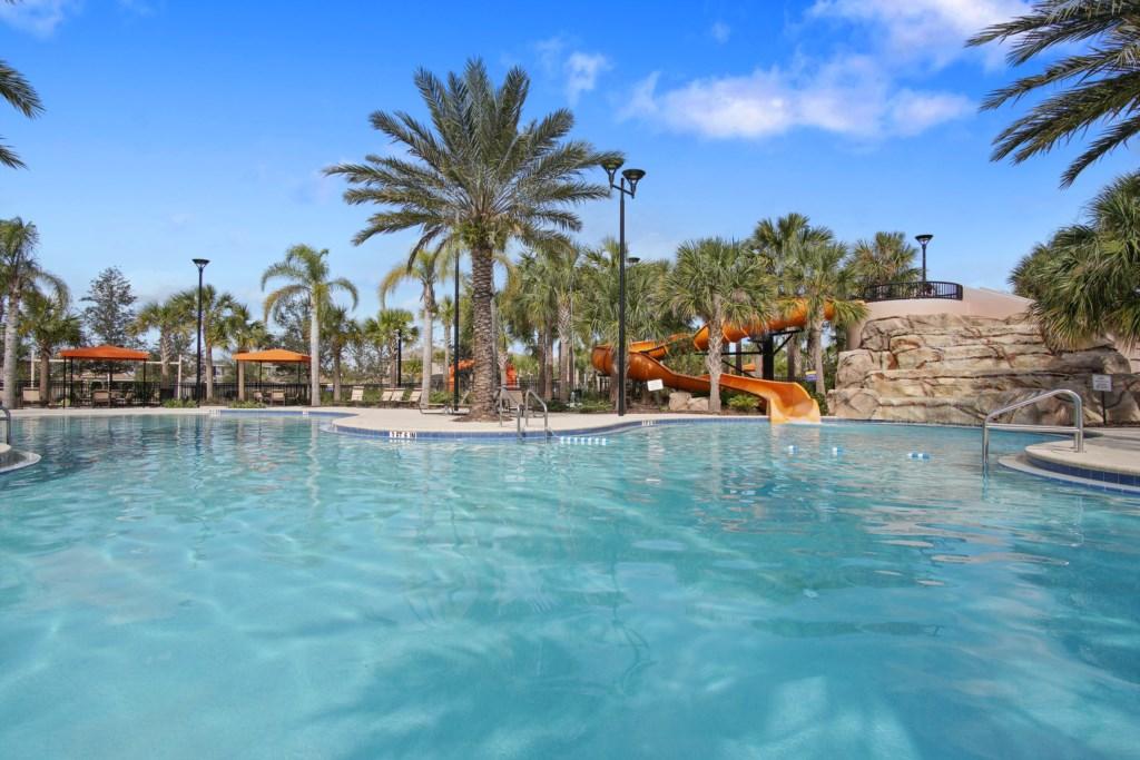 Pool & Water Slide