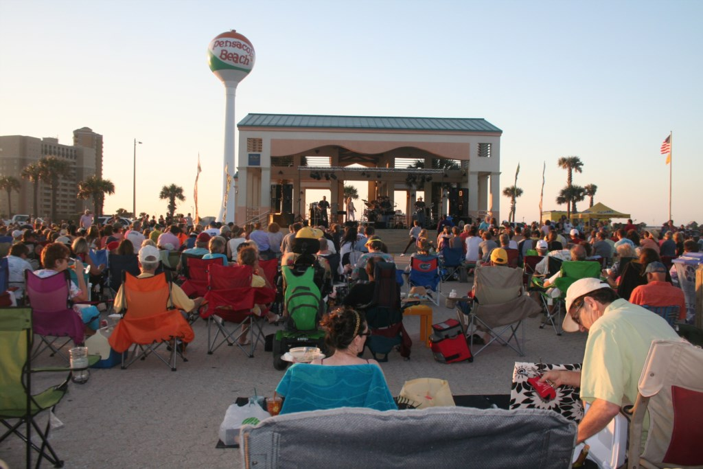 Enjoy a Tuesday summer night at Bands on the beach