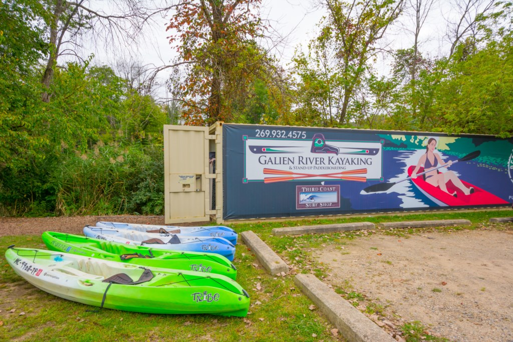 Galien River Kayaking