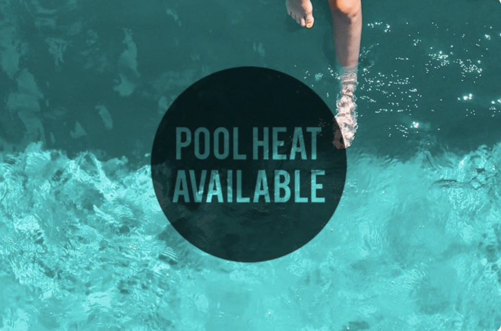 Pool heat is available at this home for $75 a day (three to five days notice needed). Please review