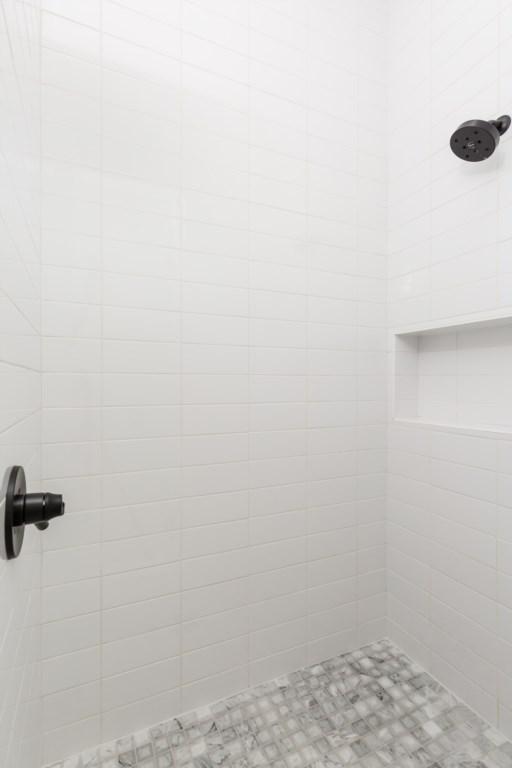 Third bathroom shower