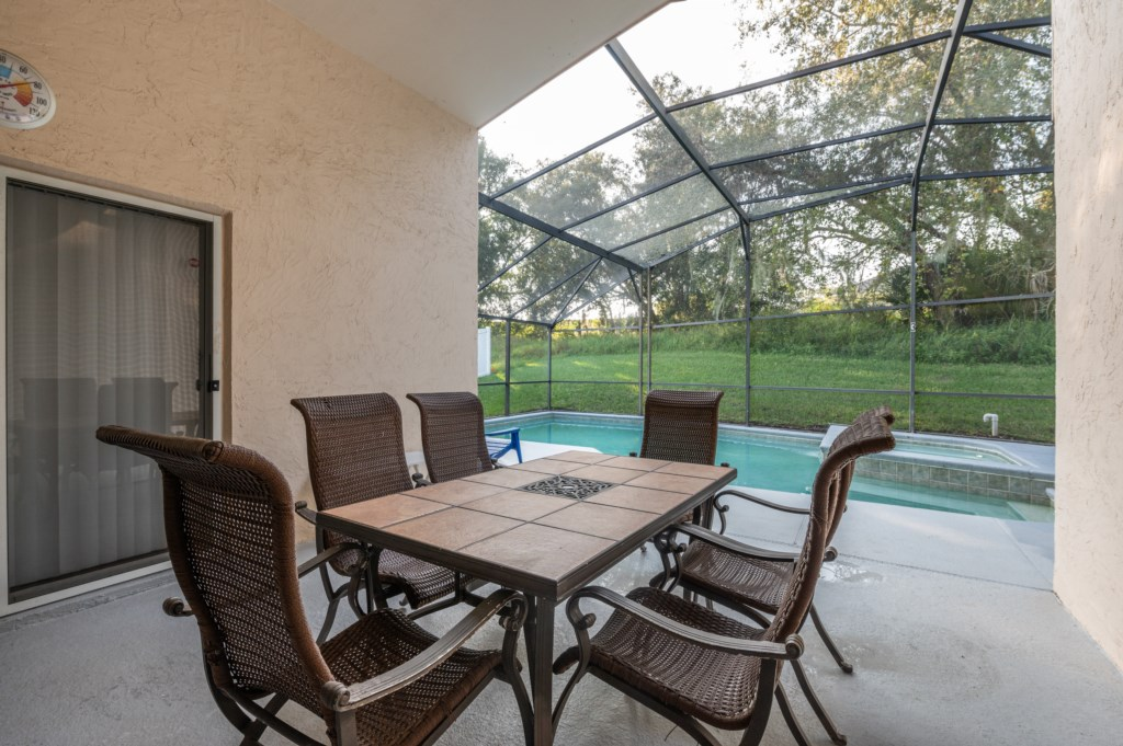 Outstanding patio table seating 6
