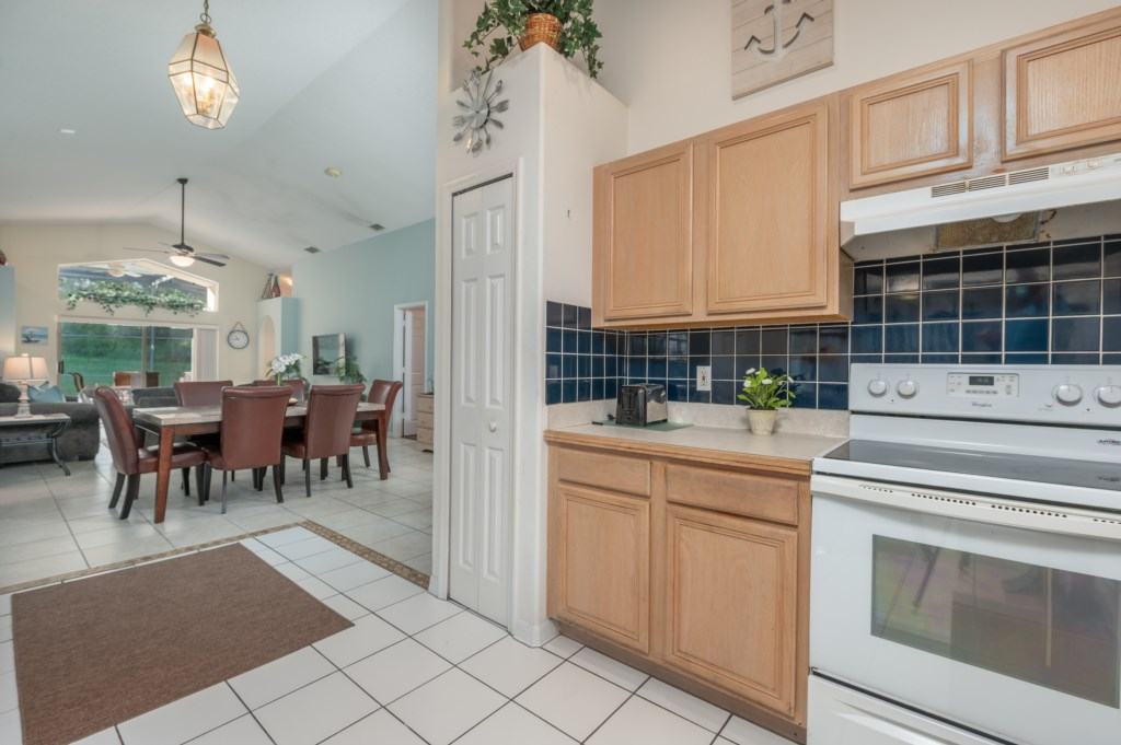 View 3 of gorgeous kitchen with dining area