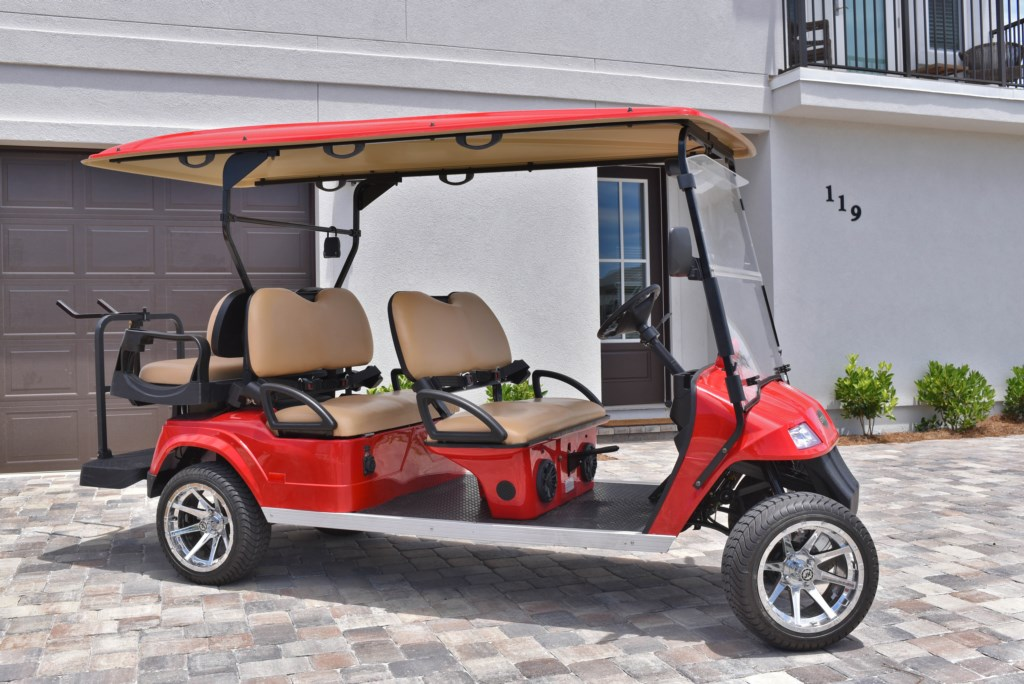 'The golf cart was a hit and made our stay that much easier and enjoyable' - Review Madison