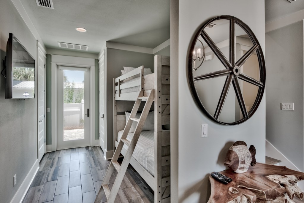 Great use of space with Twin Bunks