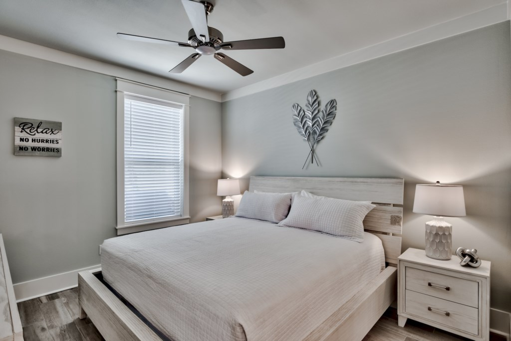 Light and Airy 1st Floor King Bedroom