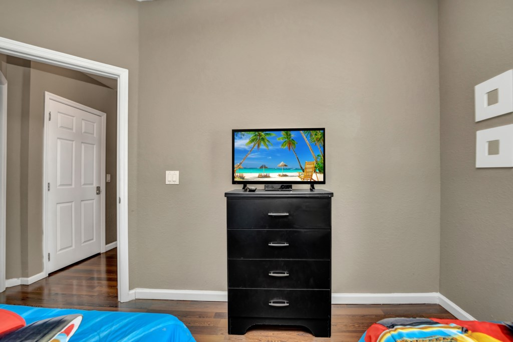 Mickey Room FLat Screen TV