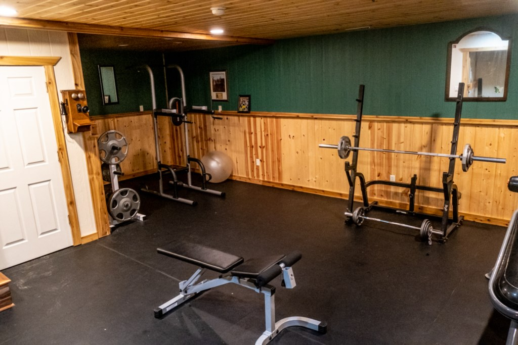 Your very own private workout room!