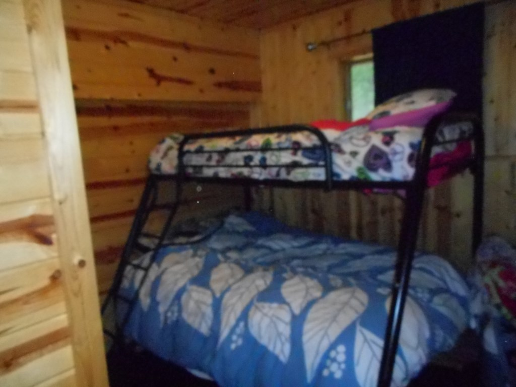 Bedroom 2:  Bunk room with full on bottom twin on top.