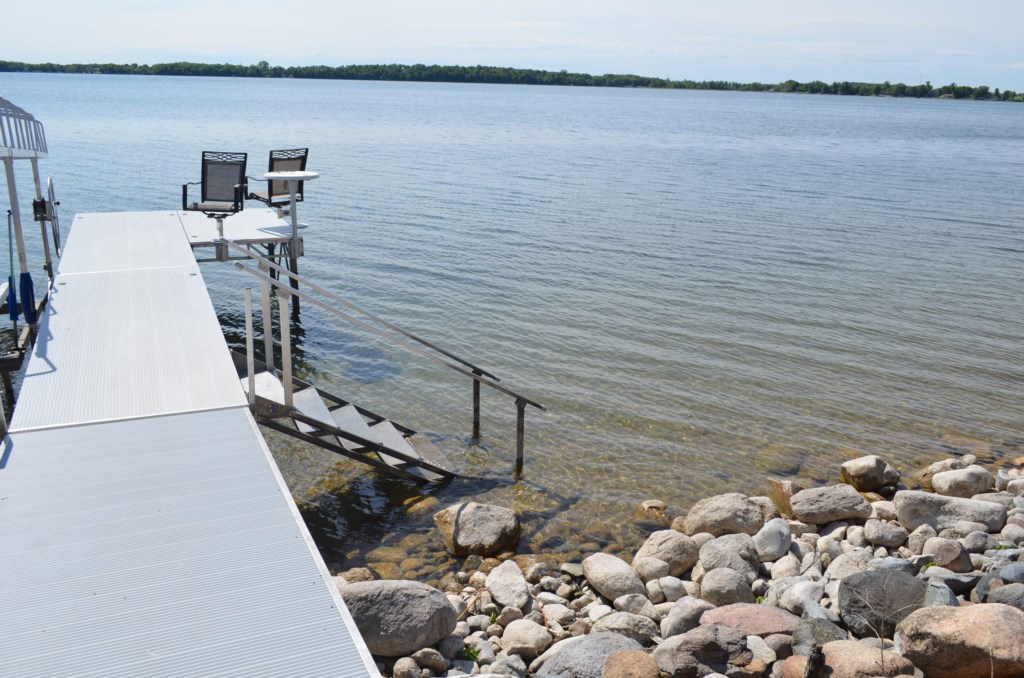 Don't forget your fishing poles.  This lake is one of the best walleye lakes around.