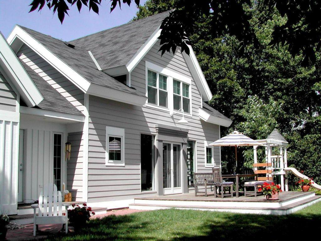 You'll admire this 1910 vintage cape cod style lake home on Big Pelican Lake.